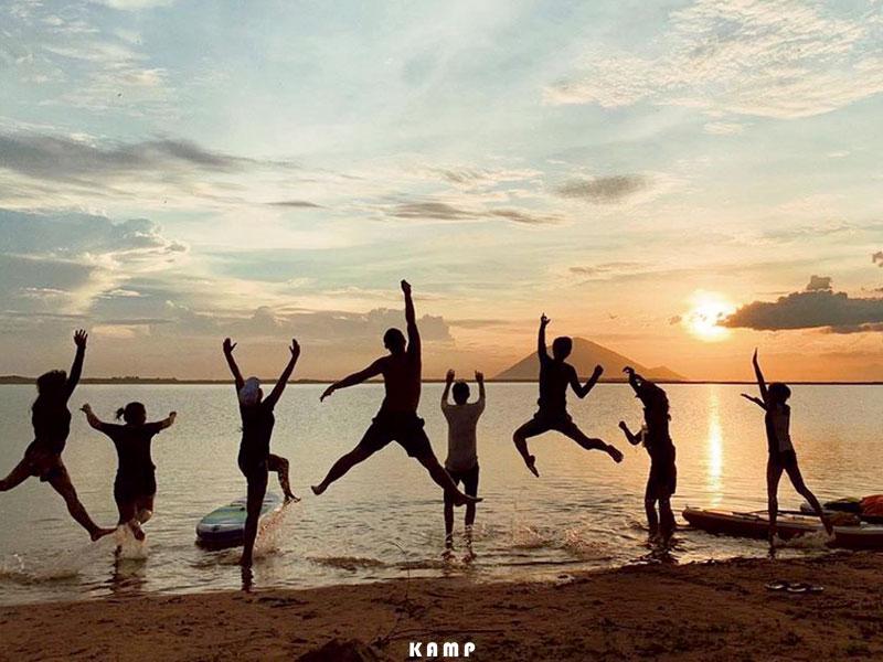 [Review] Trải nghiệm cắm trại cực chill tại hồ Dầu Tiếng